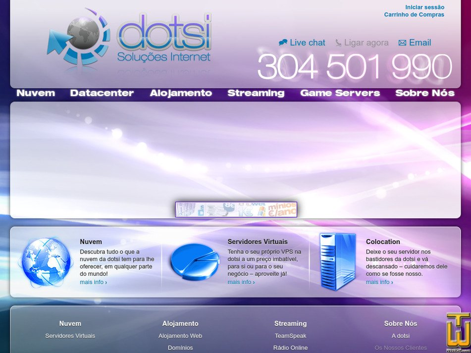 dotsi.pt Screenshot