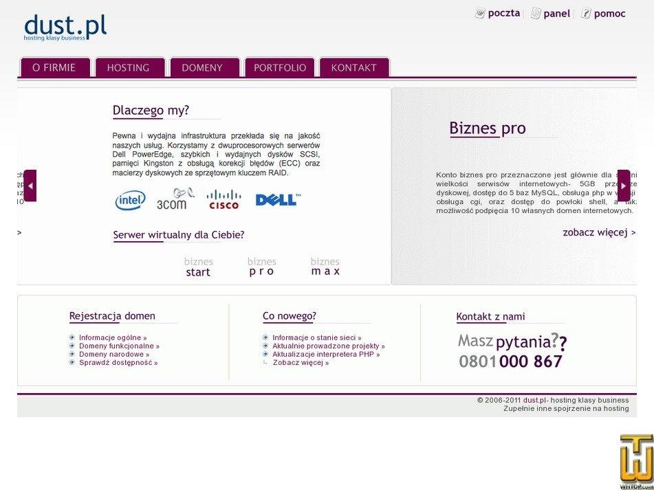 dust.pl Screenshot