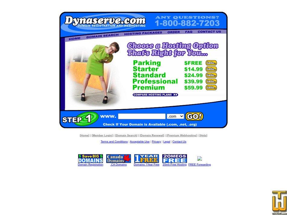 dynaserve.com Screenshot