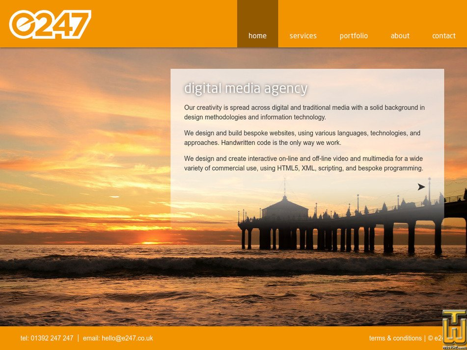 e247.co.uk Screenshot