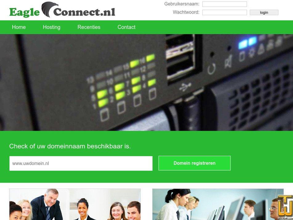 eagleconnect.nl Screenshot