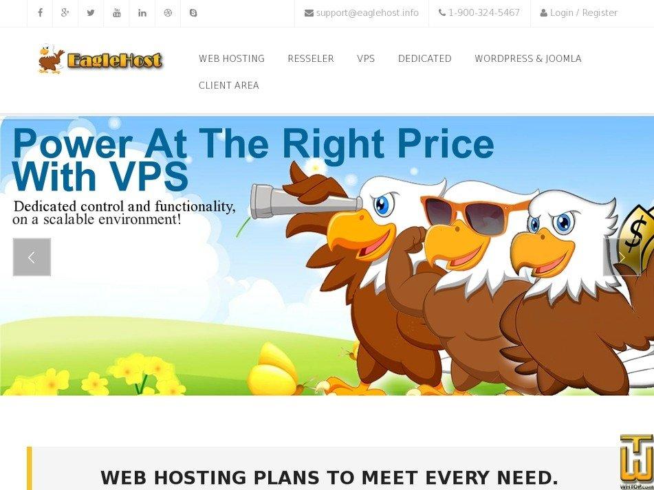 eaglehost.info Screenshot