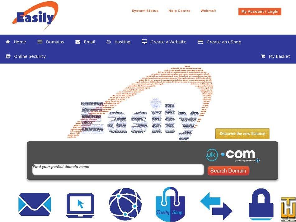 easily.co.uk Screenshot