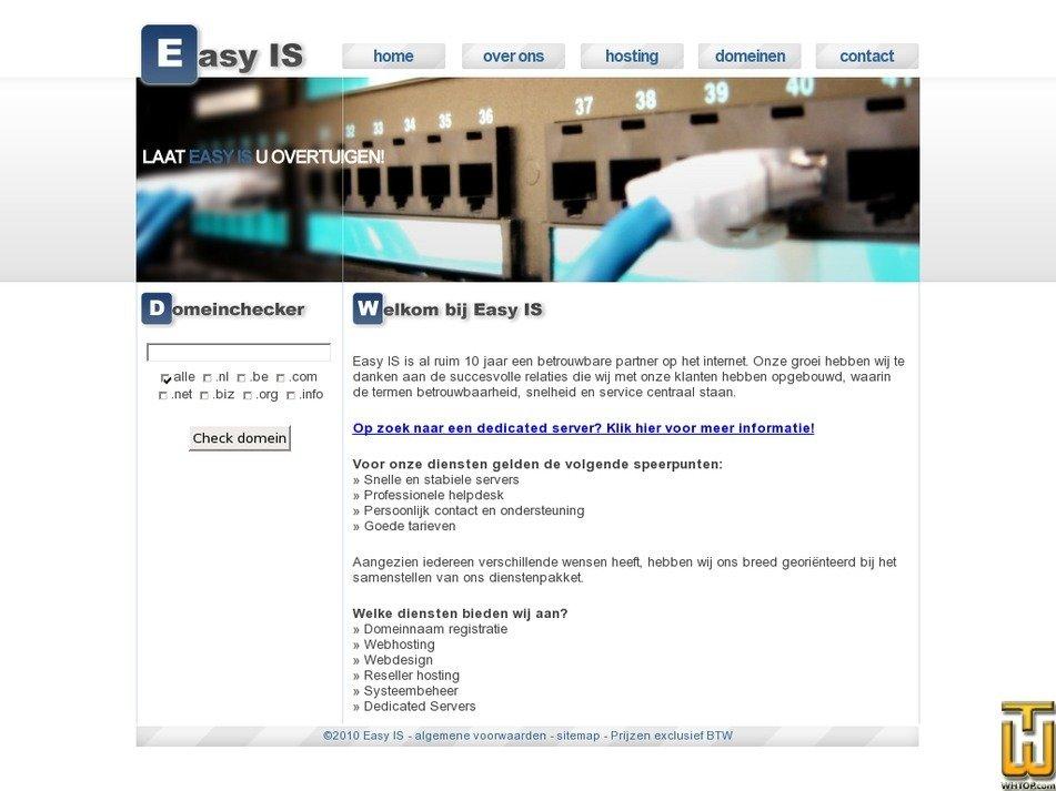 easy-is.nl Screenshot