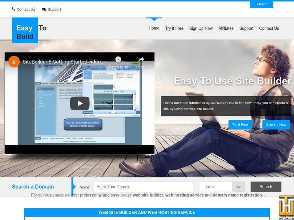 easy-to-build.com Screenshot