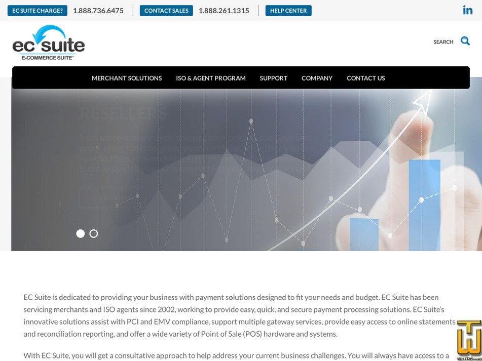 ecsuite.com Screenshot