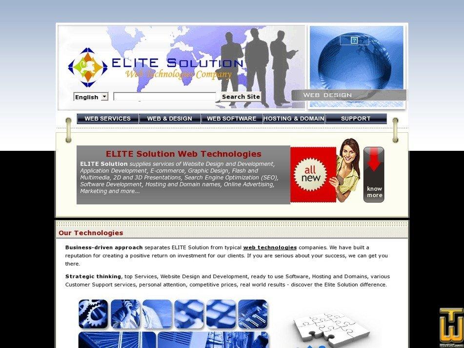 elitesolution.net Screenshot