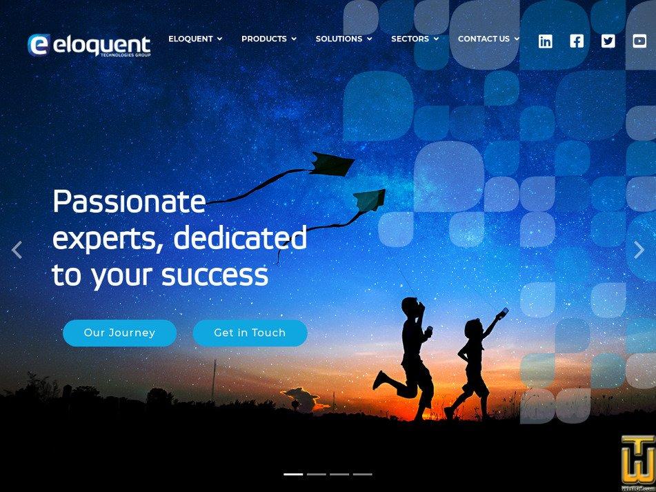 eloquent-technologies.com Screenshot