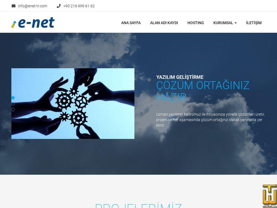 enet-tr.com Screenshot