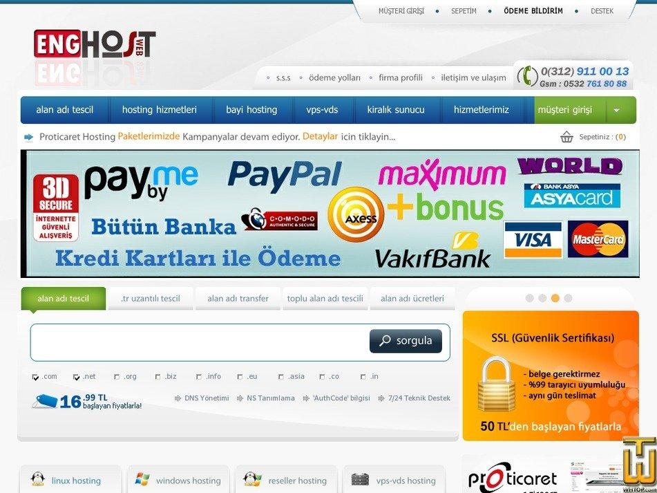 enghost.org Screenshot