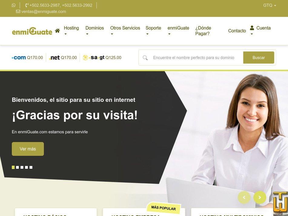 enmiguate.com Screenshot