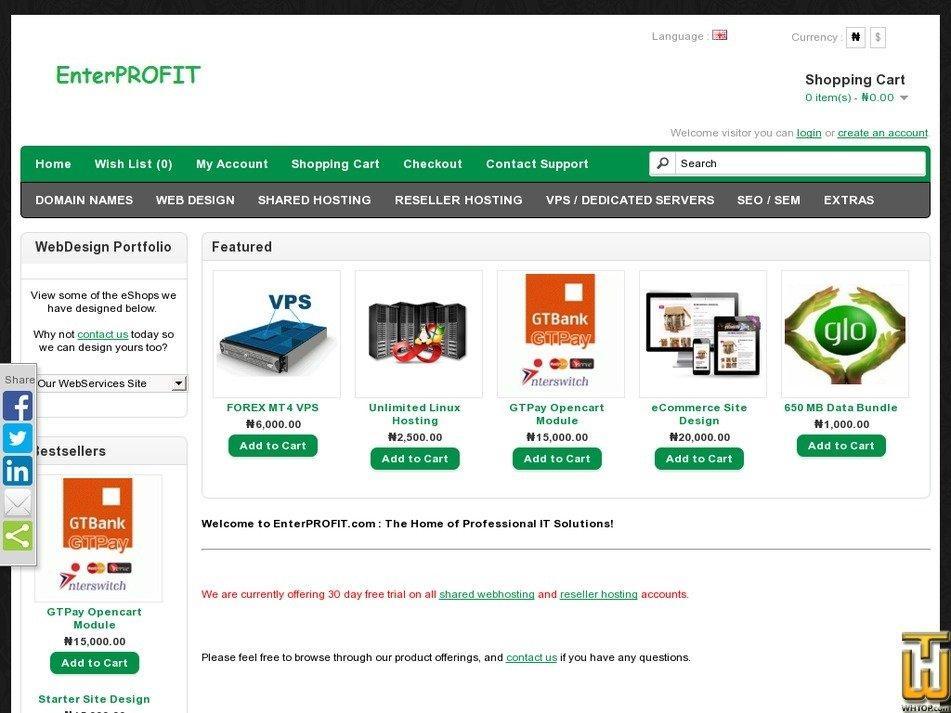 enterprofit.com Screenshot