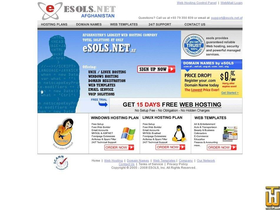 esols.net.af Screenshot
