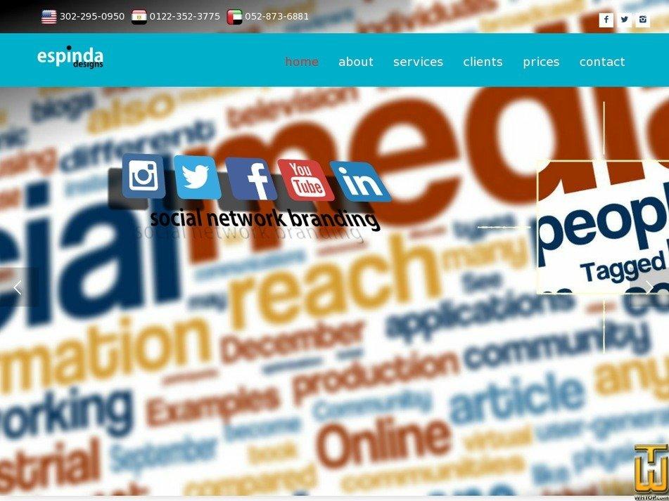 espinda.com Screenshot