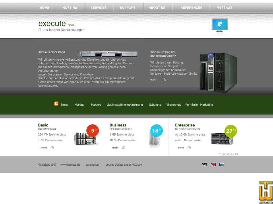 execute.ch Screenshot