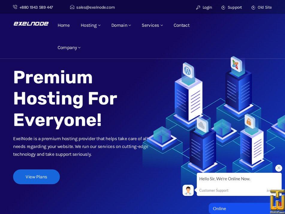 exelnode.com Screenshot