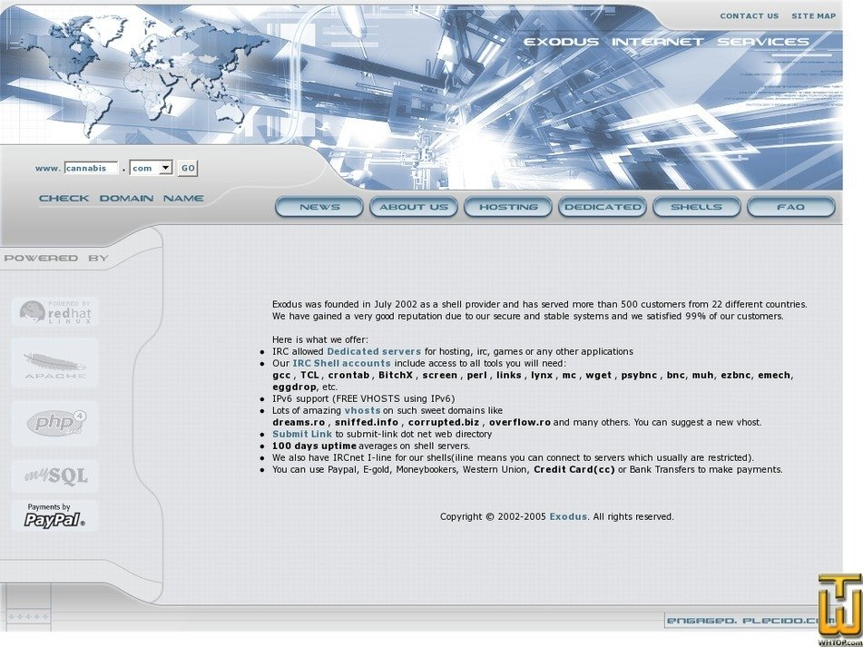 exodus.ro Screenshot