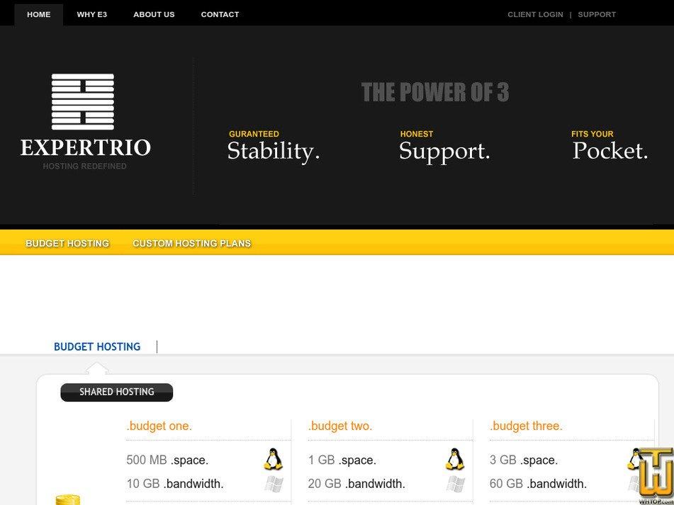 expertrio.com Screenshot