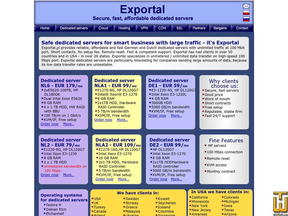 exportal.pl Screenshot
