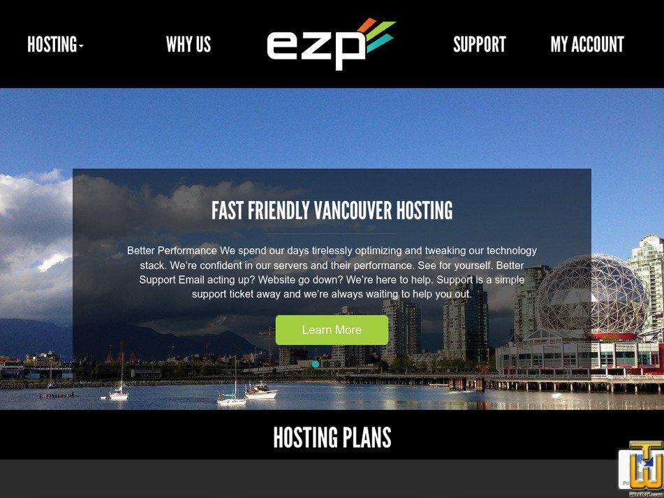 ezp.net Screenshot