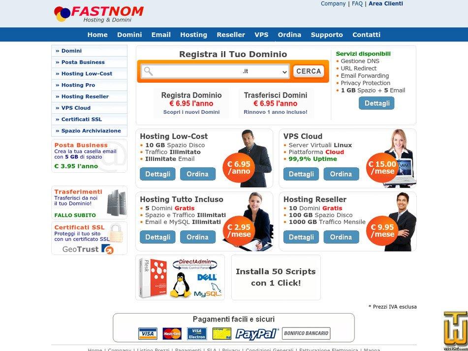 fastnom.it Screenshot