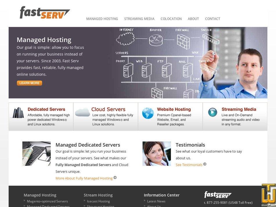 fastserv.com Screenshot