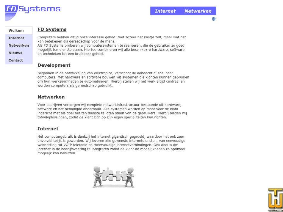 fdsystems.nl Screenshot