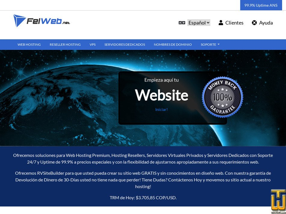 felweb.net Screenshot