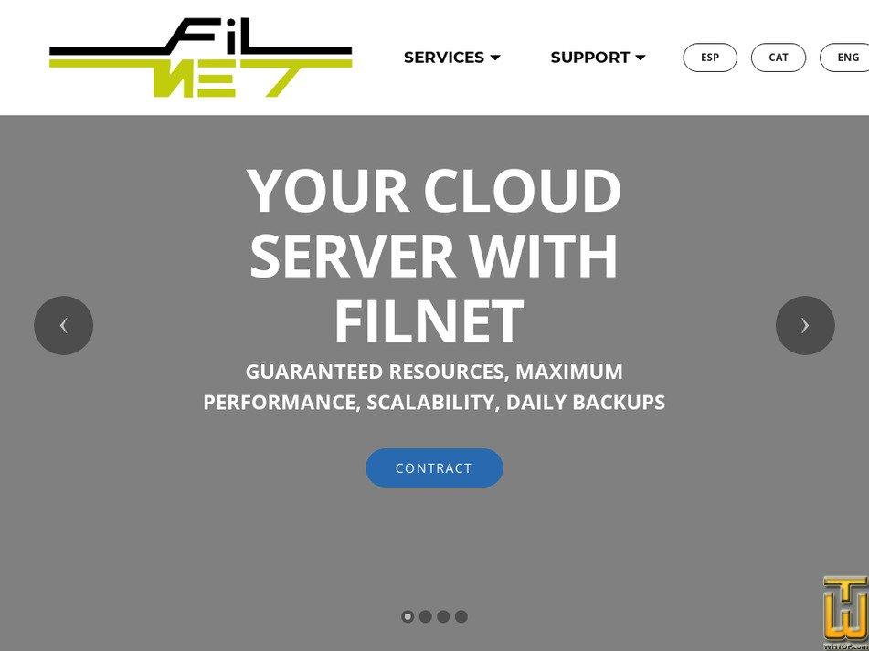 filnet.es Screenshot