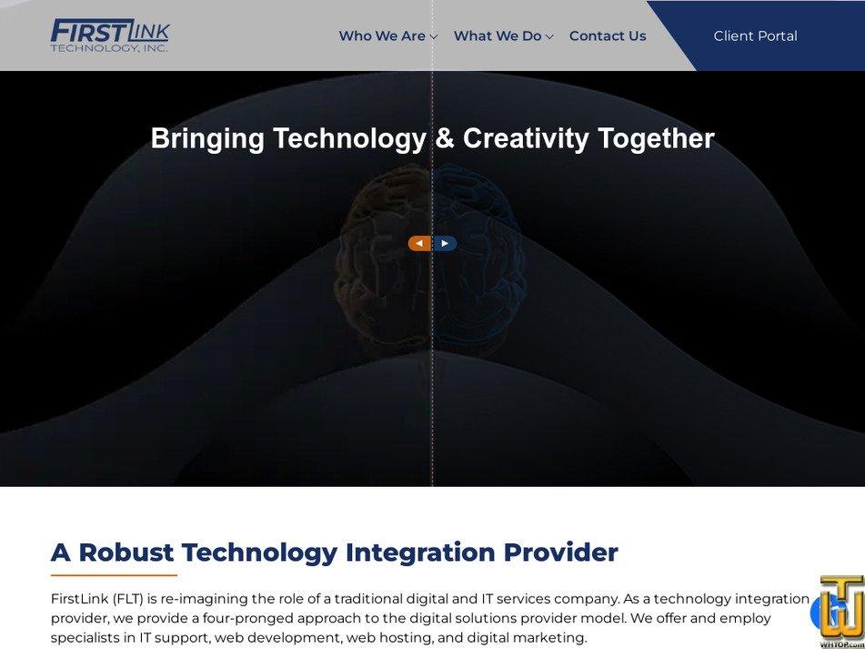 firstlink.com Screenshot