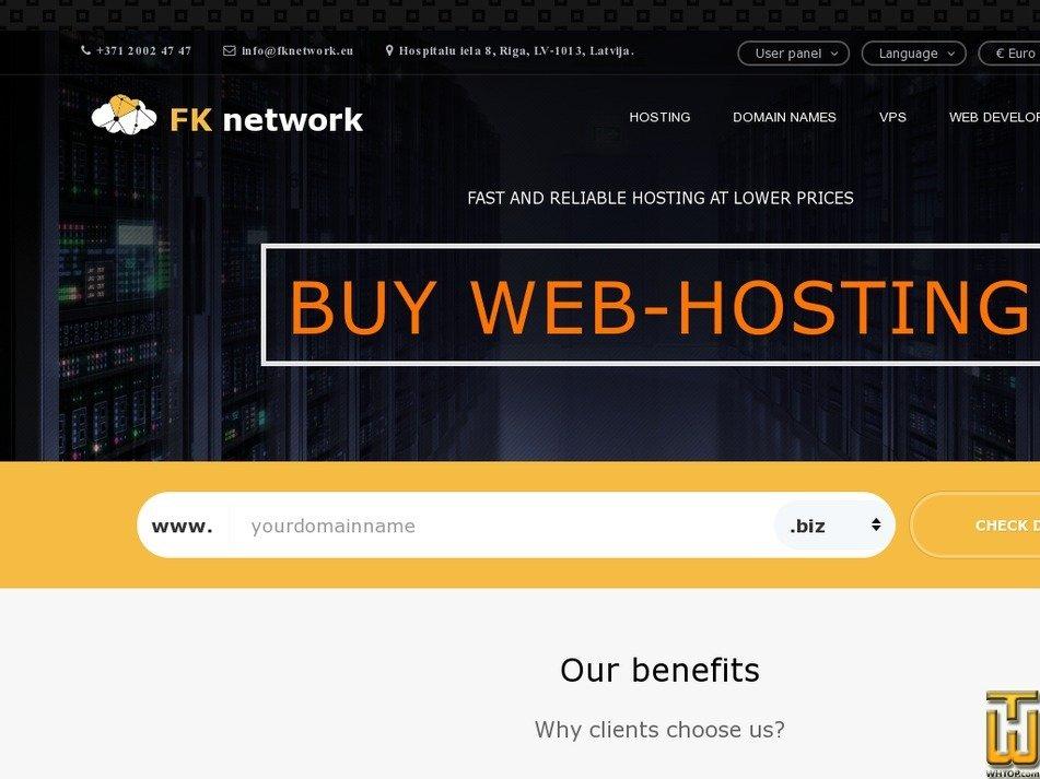 fknetwork.eu screenshot