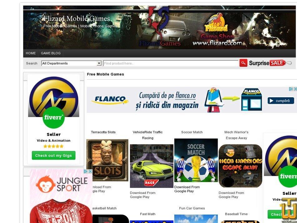 flizard.com Screenshot
