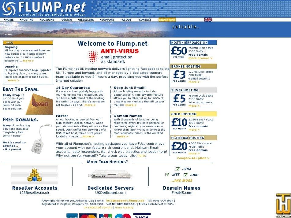 flump.net Screenshot
