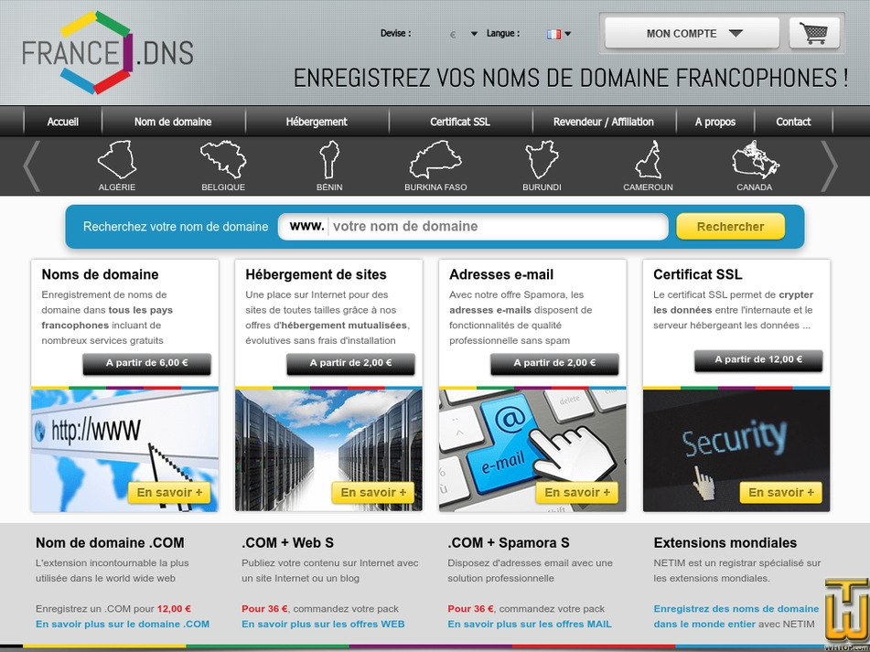 francedns.com Screenshot