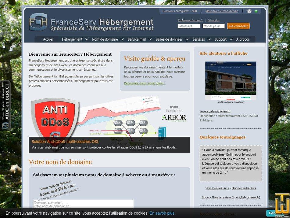 franceserv.fr Screenshot