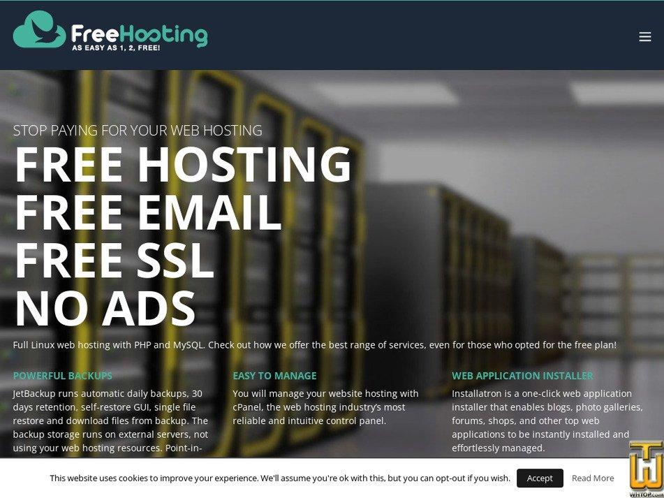 freehosting.host screenshot
