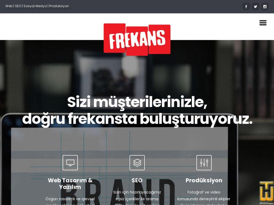 frekans.com Screenshot