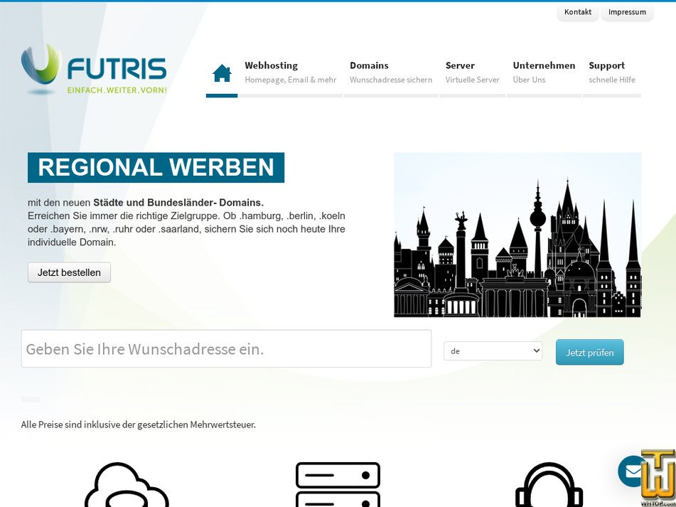 futris.net Screenshot