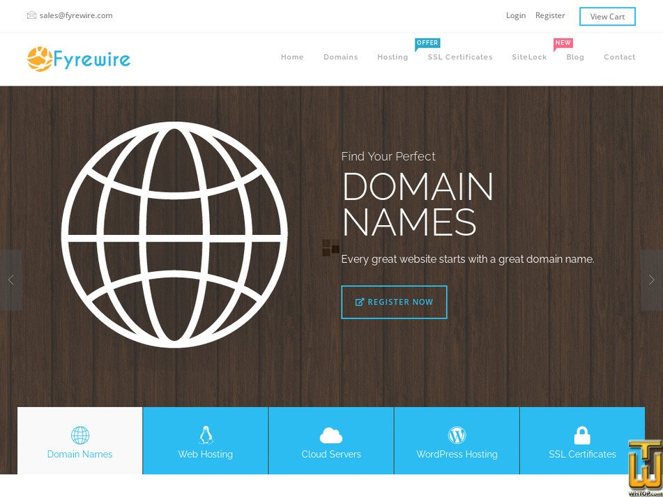 fyrewire.com Screenshot
