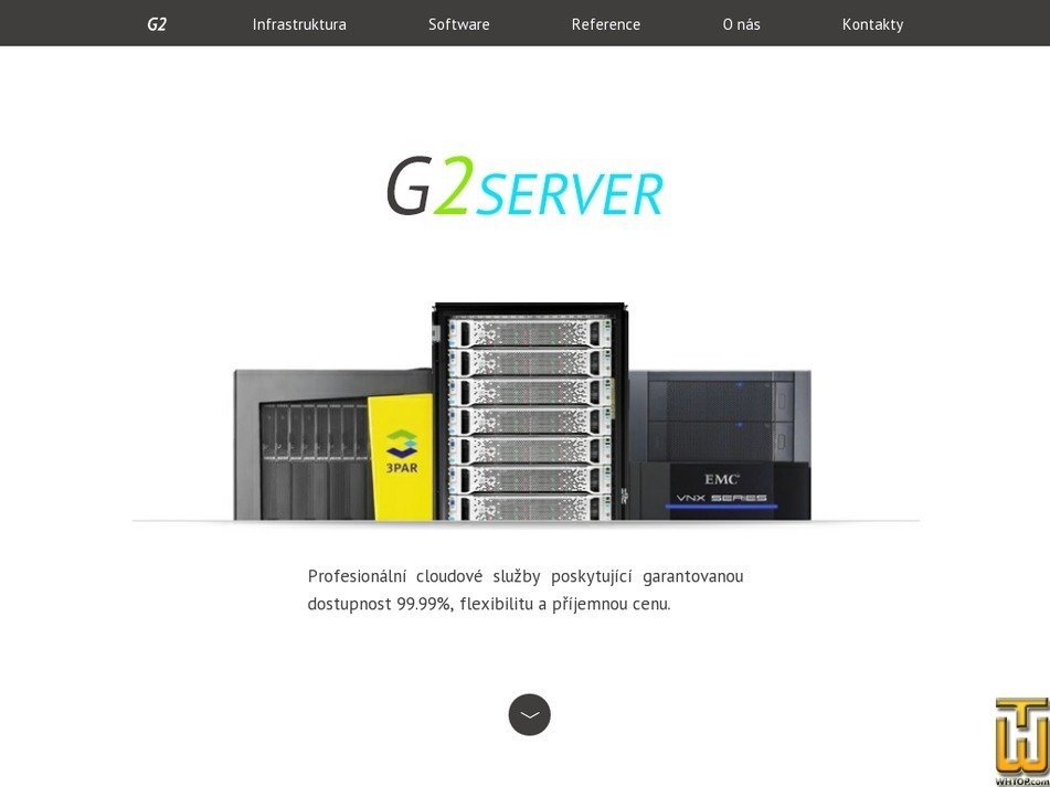 g2server.cz Screenshot