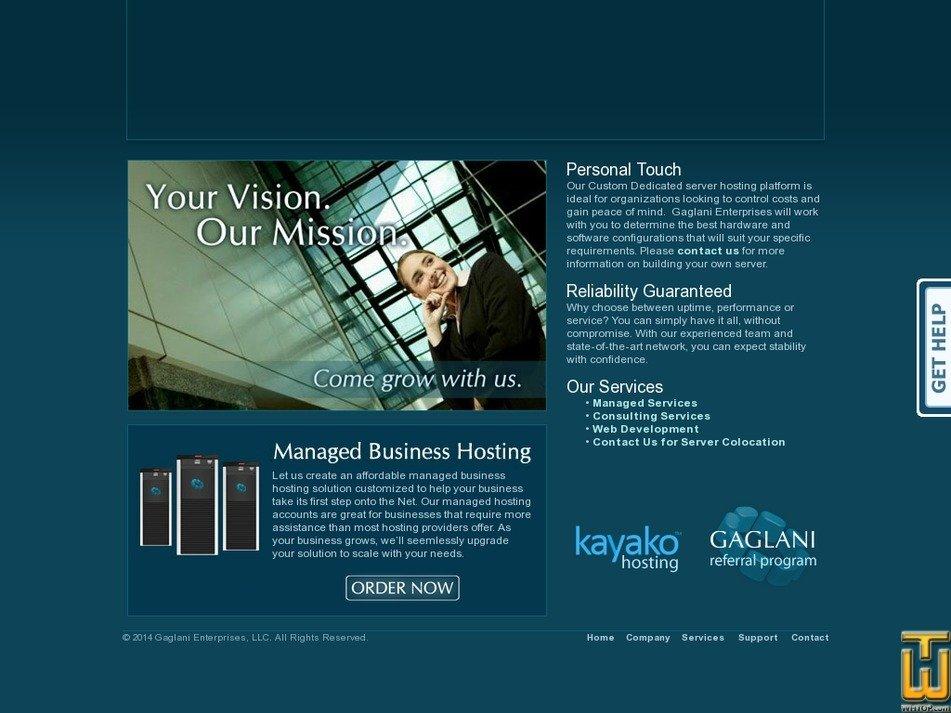 gaglani.com Screenshot