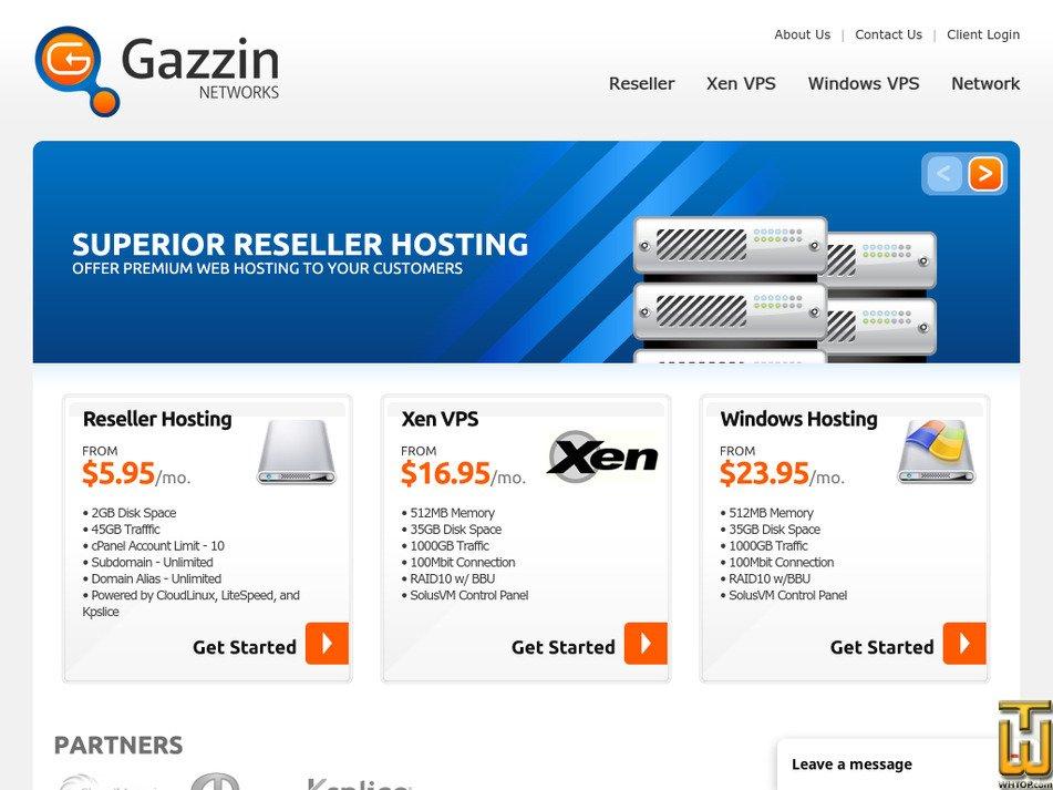 gazzin.com Screenshot