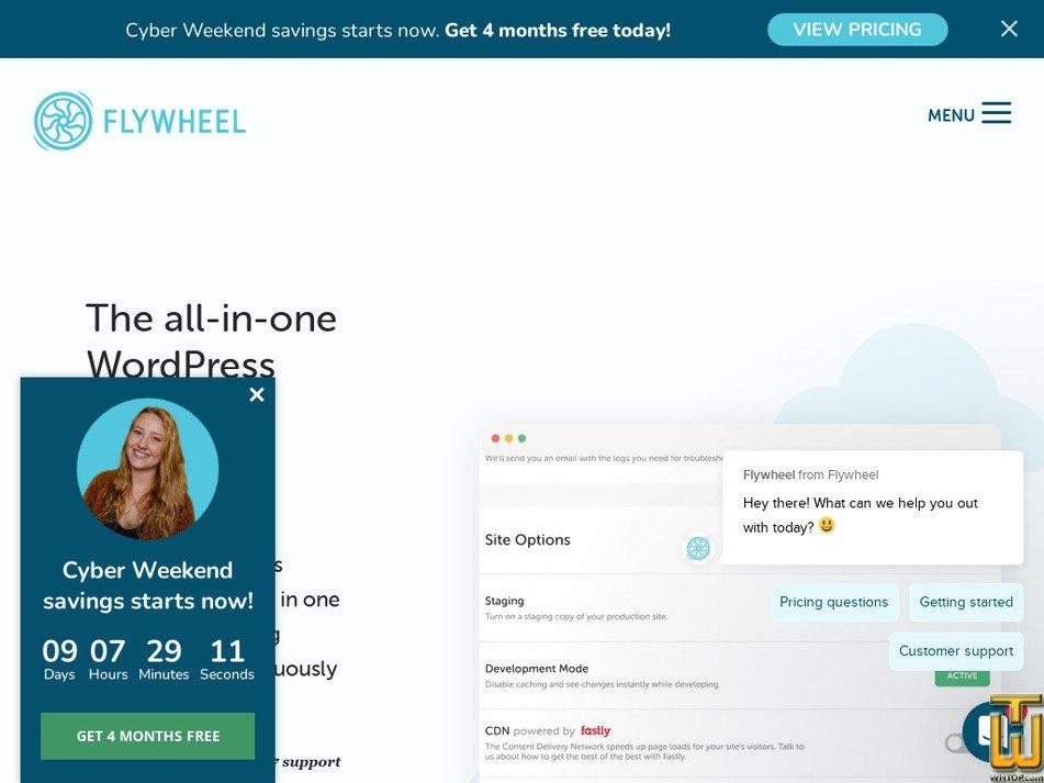 getflywheel.com Screenshot