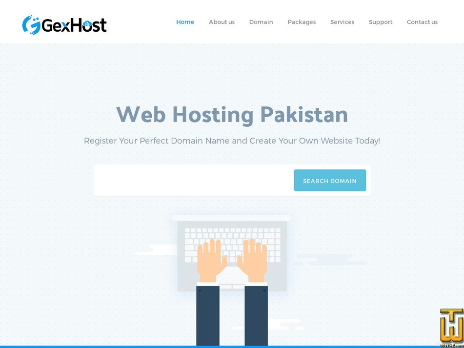 gexhost.com Screenshot