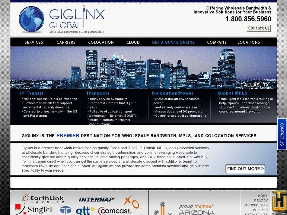 giglinx.com Screenshot