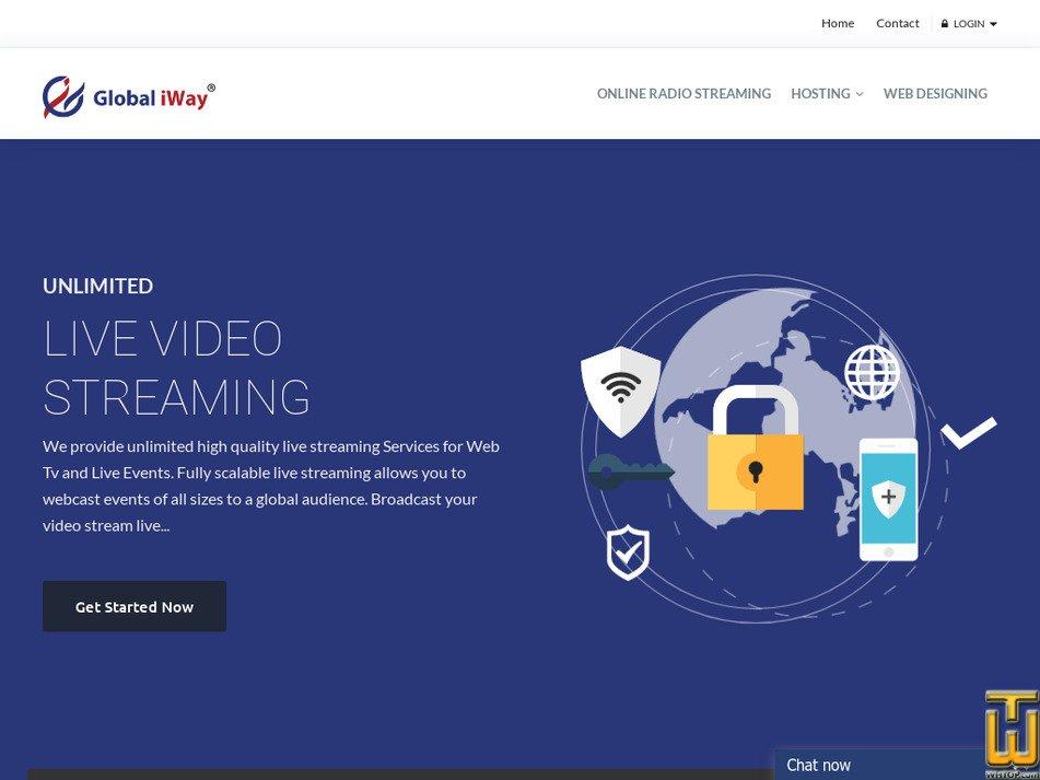 globaliway.com Screenshot