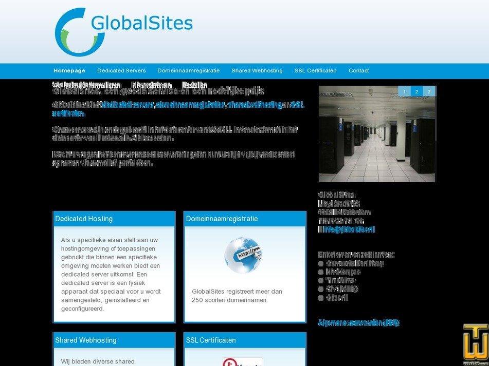 globalsites.nl Screenshot
