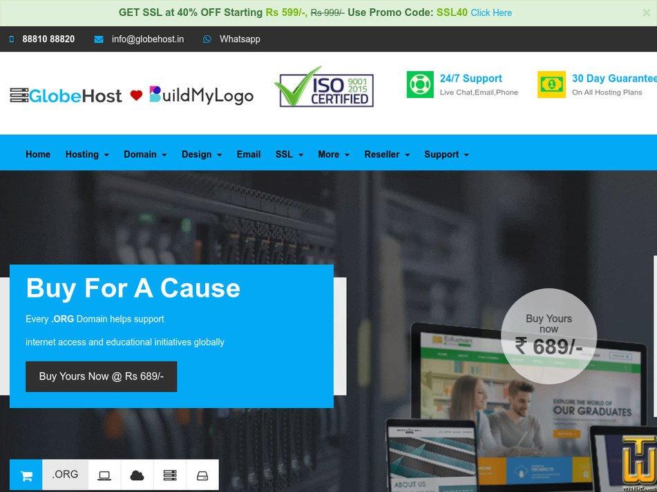globehost.com Screenshot