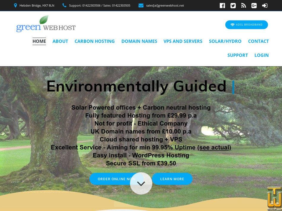 greenwebhost.net Screenshot