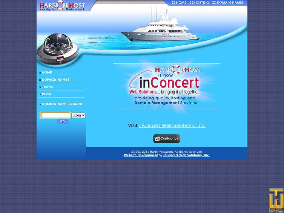 harborhost.com Screenshot